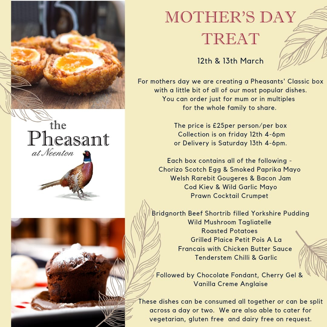 Mother's Day Takeaway Treat